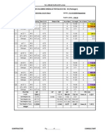 Bar Bending Schedule Footings Block # 06