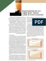 Exportacion de Oro