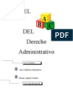 El ABC Del Derecho Admin Claudia