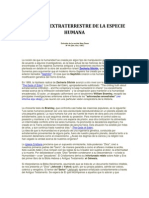 EL ORIGEN EXTRATERRESTRE DE LA ESPECIE HUMANA.docx