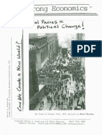 *Financial Panics = Political Change