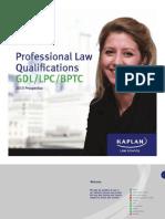 Kaplan Law School 2013 Brochure