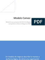 Modelo Canvas