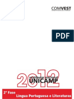 UNICAMP 2ª Fase 2012 (Comentada)