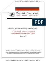 Civic Federation Local Pension Report