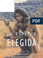 Arsuaga J y Martínez I - La especie elegida - 2006