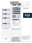 D&D Character Record Sheet