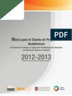 Marco ParaDiseno - CN 2012-13
