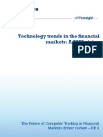 11 1222 Dr3 Technology Trends in Financial Markets