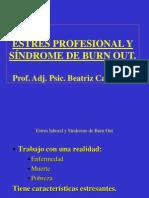 Síndrome de Burn Out