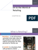Chapter 1 Introduction to the World of Retailing