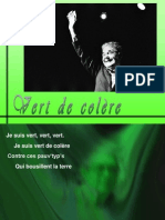 Chanson Je Suis Vert - Pierre Perret 98