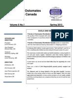 FOWC Newsletter Spring 2013