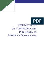Observatorio a Las Contrataciones Publicas