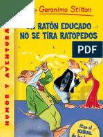 Un ratón educado no se tira ratopedos - Geronimo Stilton