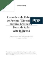 Plano de Aula Referente Ao Projeto Diversidade Cultural