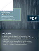 Anorexia y Builimia