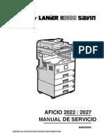 Aficio 2022-27(B089-B093)