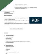 Programa Derecho Registral Uruguayo