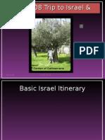 My 2008 Trip to Israel & Jordan Garden Of