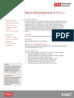 At Secure ClientServer Development C++