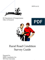 Road Condition Survey Guide