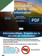 La politique de sécurité des systèmes d'Info