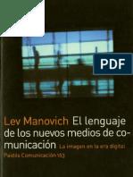 El Lenguaje de Los Nuevos Medios de Comunicacion-lev Manovich