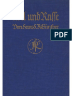 Guenther, Hans - Adel Und Rasse (1927, 141 S., Scan-Text, Fraktur)