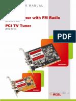 Encore PCI TV Tuner ENLTV-FM3 / ENLTV-3