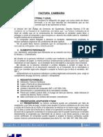 FACTURA CAMBIARA DEFINICIÓN DOCTRINAL Y LEGAL- EN GRUPO