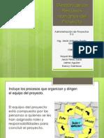 Gestión de los Recursos Humanos del Proyecto (1)