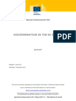 Discrimination in the EU in 2012