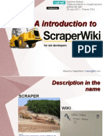 Presentation on ScrapperWiki.com