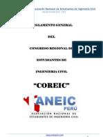 Reglamento General Coreic