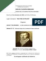 Minicurso I de Hegel