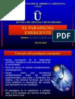 El Paradigma Emergente Diapositivas