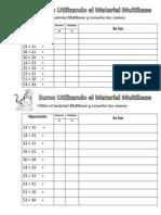 Utilizo El Material Multibase y Resuelvo Las Sumas