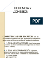 coherencia y cohesión 1° medio