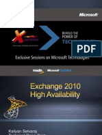 Exchange 2010HA CTD