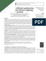2011_An Energy Efficient Pedestrian Aware Smart Street Lighting System_MuellnerRiener2011