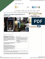 20-05-13 Dejaran de pagar larga distancia 14 Municipios  - Mnoticias