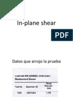 ASTM in-plane y Long Beam