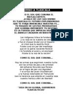 Himno a Tlaxcala