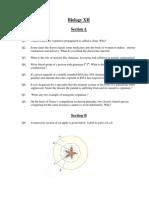 Microsoft Word - XII-Bio-Paper-1 Marking Scheme