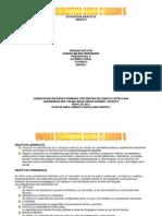 Estrategia Didactica Ciclo 3 Grado 5
