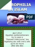 Necrophilia in Islam
