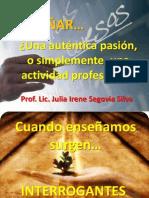 1-ENSEÑAR CON PASIÓN