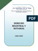 Syllabo Derecho Registral y Notarial