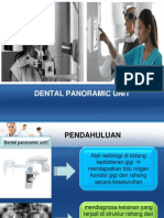 Dental Panaromic Unit Ppt